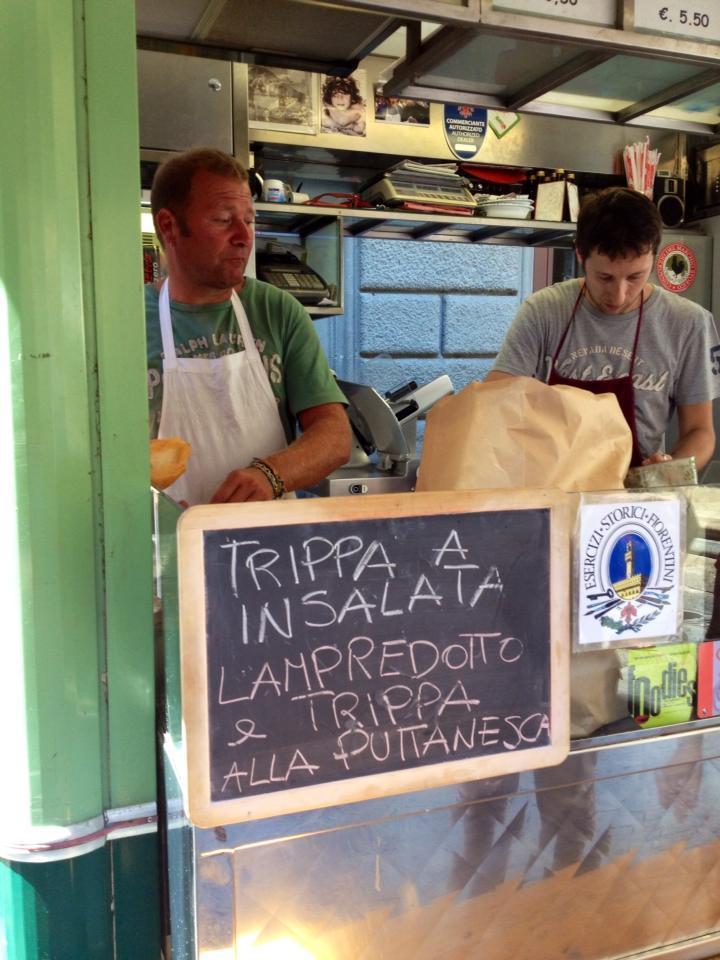 Mercato del porcellino il panino con il lampredotto - Centro cucina firenze ...