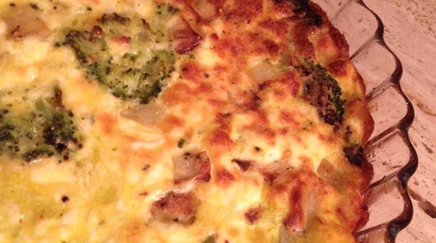 TORTA SALATA CON BROCCOLETTI & PATATE