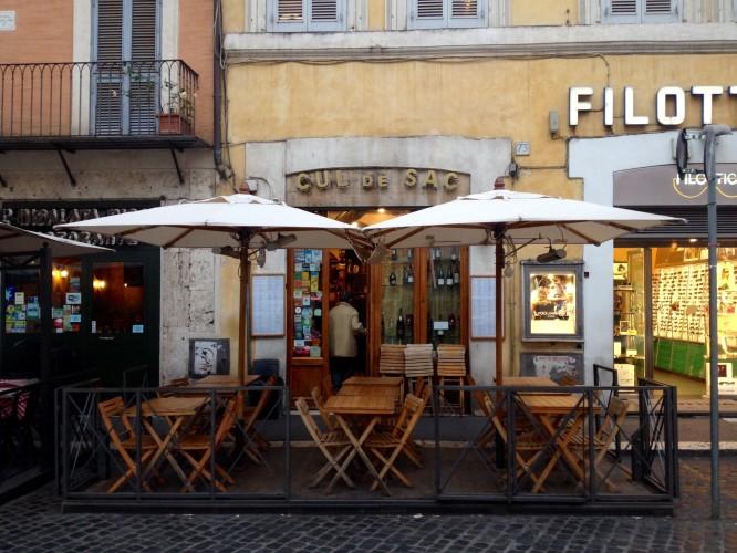 CUL DE SAC DAL 1977, Roma, Piazza Navona